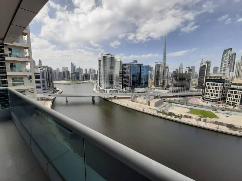 2 Spacious 1BR  with Big Balcony for Rent in Business Bay