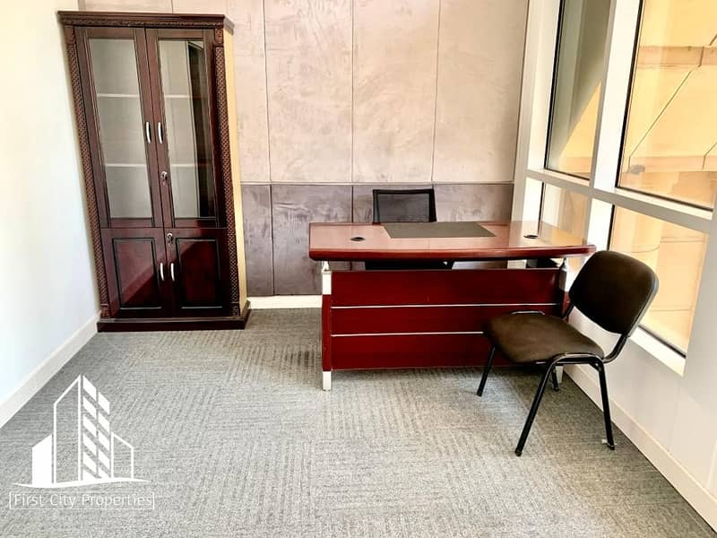 Fully Furnished Office Spaces Available in Business Location