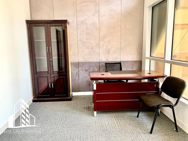 2 Fully Furnished Office Spaces Available in Business Location