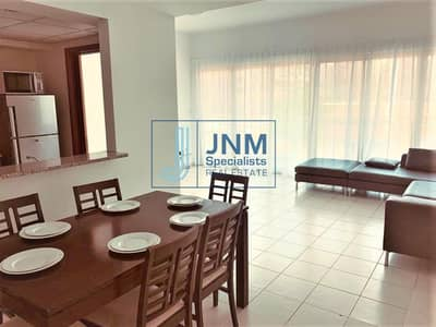 Furnished 2 BR + Study| Pool View