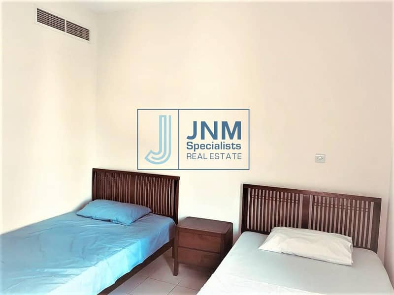 13 Furnished 2 BR + Study| Pool View