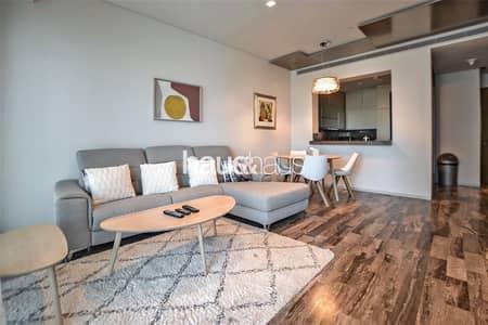 فلیٹ 1 غرفة نوم للايجار في دبي مارينا، دبي - Fendi Designed   Fully Furnished   Full Sea View