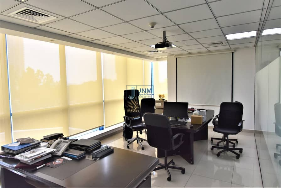 2 Fitted Office | Low Floor| Lake View