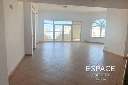 شقة 3 غرف نوم للايجار في نخلة جميرا، دبي - Palm Jumeirah | Available | Keys With Me