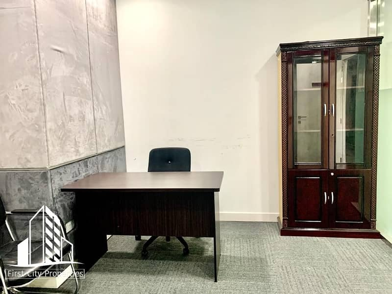 2 Big and Small Office Spaces Available within the City