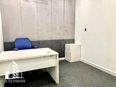 مکتب  للايجار في منطقة الكورنيش، أبوظبي - Big and Small Office Spaces for Rent Available in City with Ample Parking
