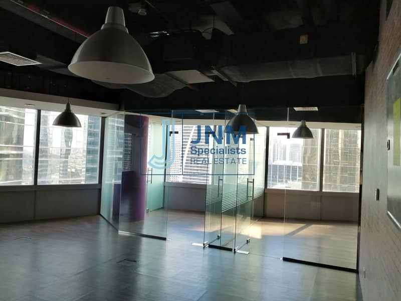Fitted Office with Glass Partitions| Lake View