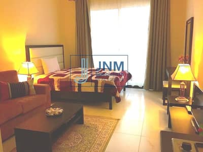Studio for Rent in Jumeirah Village Circle (JVC), Dubai - Fully Furnished Studio w/ Balcony | Community View