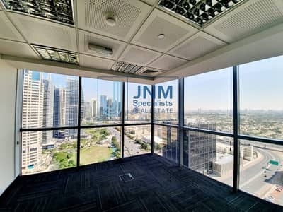 Office for Sale in Jumeirah Lake Towers (JLT), Dubai - Full Floor | Fitted with Partitions | 8 Parkings