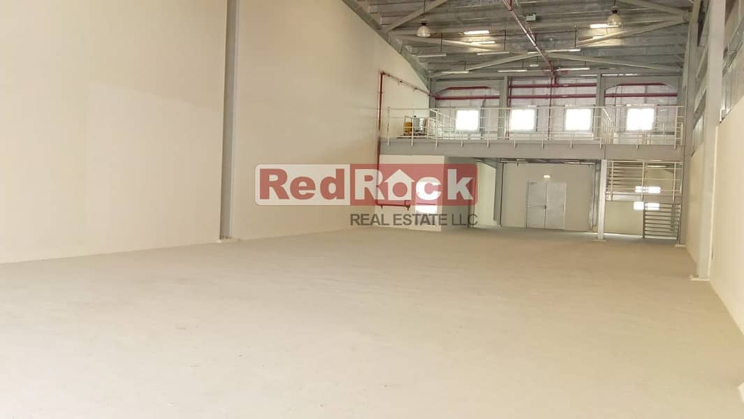 Aed 21/Sqft for 4360 Sqft Brand New with 22KW in Jebel Ali