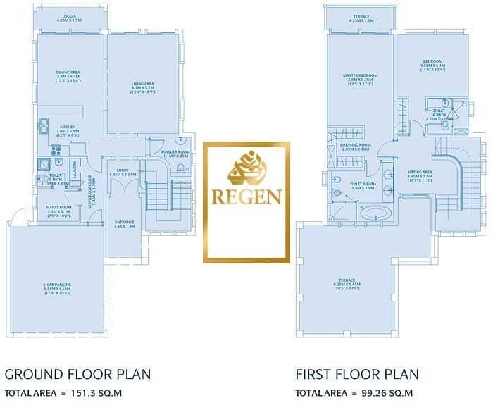 2 Two Bedroom Hall Nakheel Villa For Rent - Arabic Style