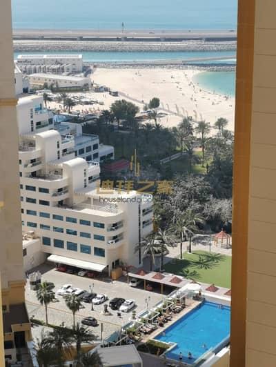 شقة 2 غرفة نوم للايجار في جميرا بيتش ريزيدنس، دبي - spacious 2 bedroom + maid room with beautiful sea view