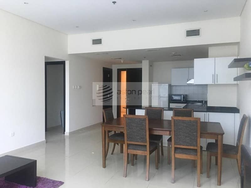 Fully Furnished | 2 BR without Balcony | Mid Floor