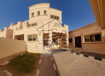 6 Bedroom Villa for Rent in Khalifa City A, Abu Dhabi - MEGA DEAL 6-M/BED VILLA OUTSIDE MAJLIS KITCHEN DRIVER ROOM