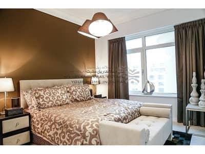 شقة 2 غرفة نوم للايجار في نخلة جميرا، دبي - Best upgraded F-type Apt on the Park Side
