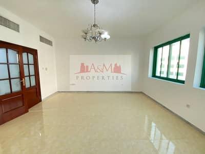 شقة 2 غرفة نوم للايجار في المشرف، أبوظبي - SPACIOUS 2 Bedroom Apartment with Balcony and Laundry room in Delma Street for 51