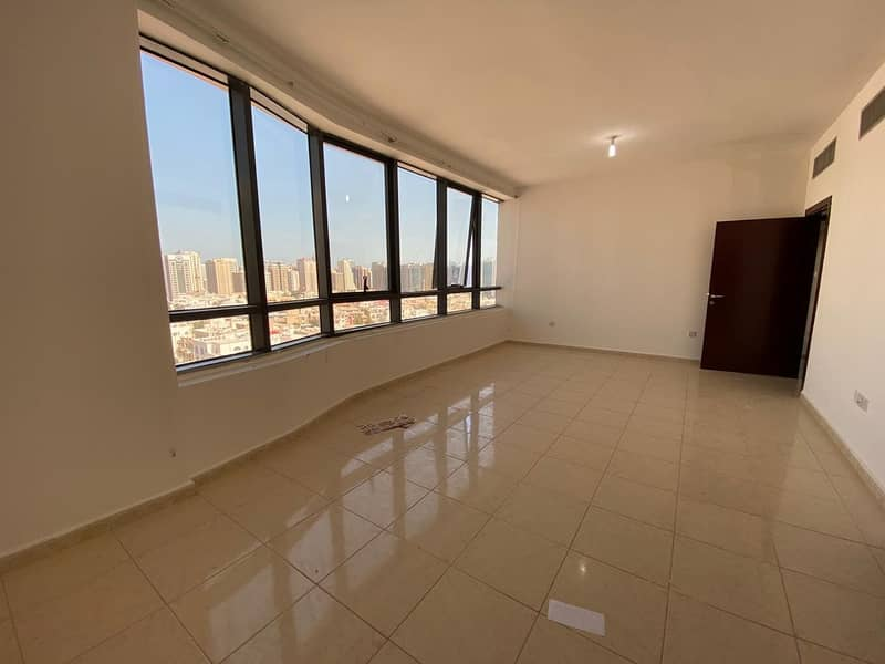 Tower Building Spacious 3 Bedrooms available in Airport Road Near Al Wahda Mall.