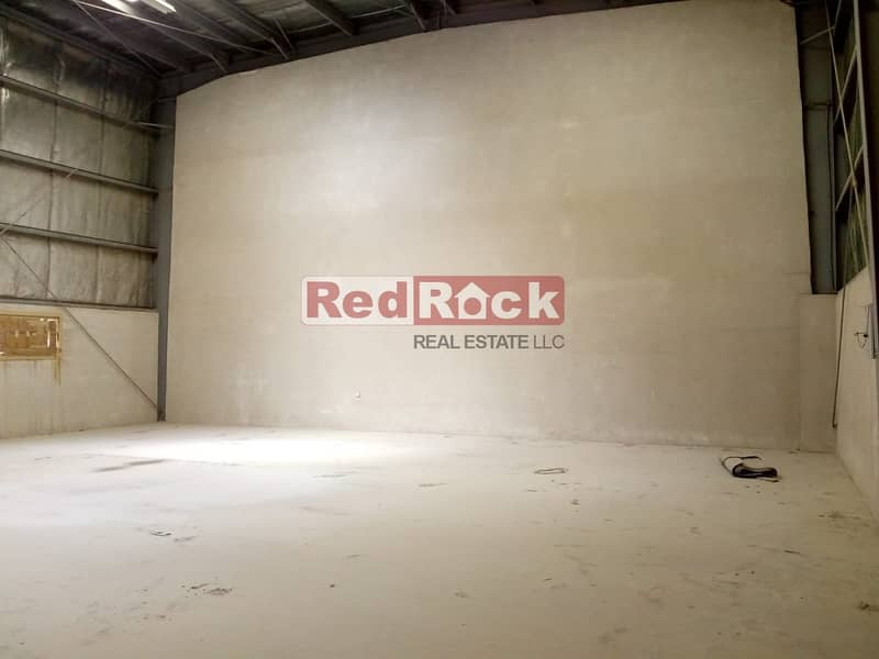 Insulated 2329 Sqft Warehouse with Washroom in Jebel Ali