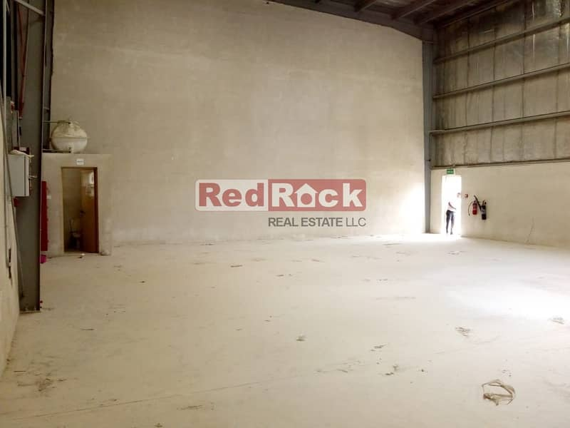 2 Insulated 2329 Sqft Warehouse with Washroom in Jebel Ali