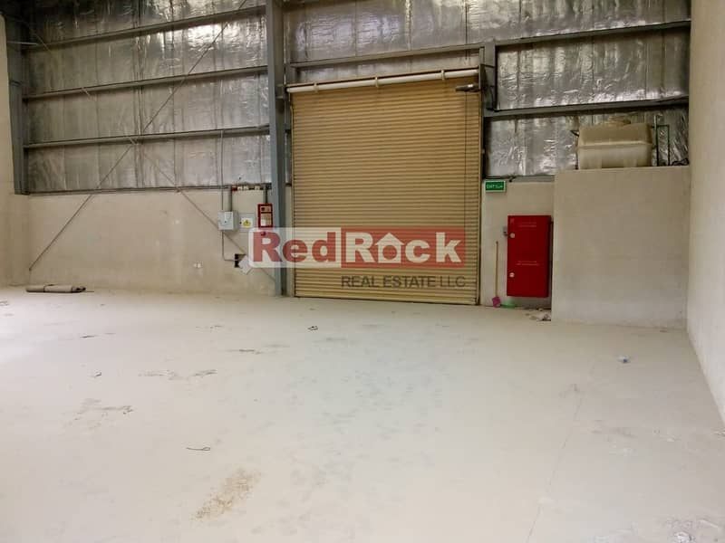 9 Insulated 2329 Sqft Warehouse with Washroom in Jebel Ali