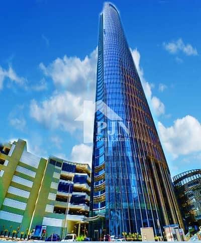 مکتب  للايجار في جزيرة الريم، أبوظبي - Fully Fitted Office For Rent In Addax Tower.
