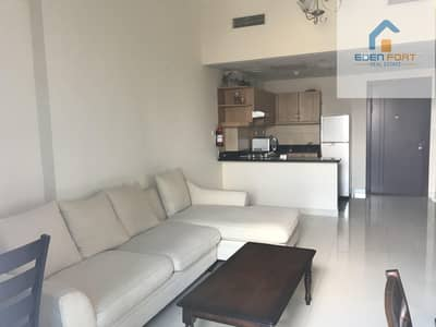 1 Bedroom Apartment for Rent in Dubai Sports City, Dubai - Amazing Layout Fully Furnished 1 BHK E7.