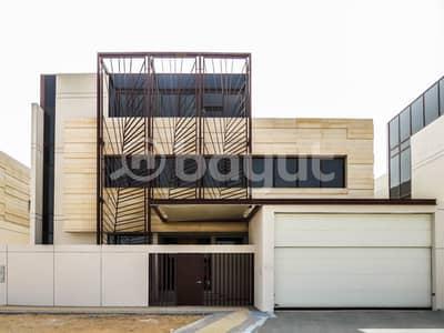 فیلا 6 غرف نوم للايجار في آل نهيان، أبوظبي - فیلا في آل نهيان 6 غرف 450000 درهم - 4558184