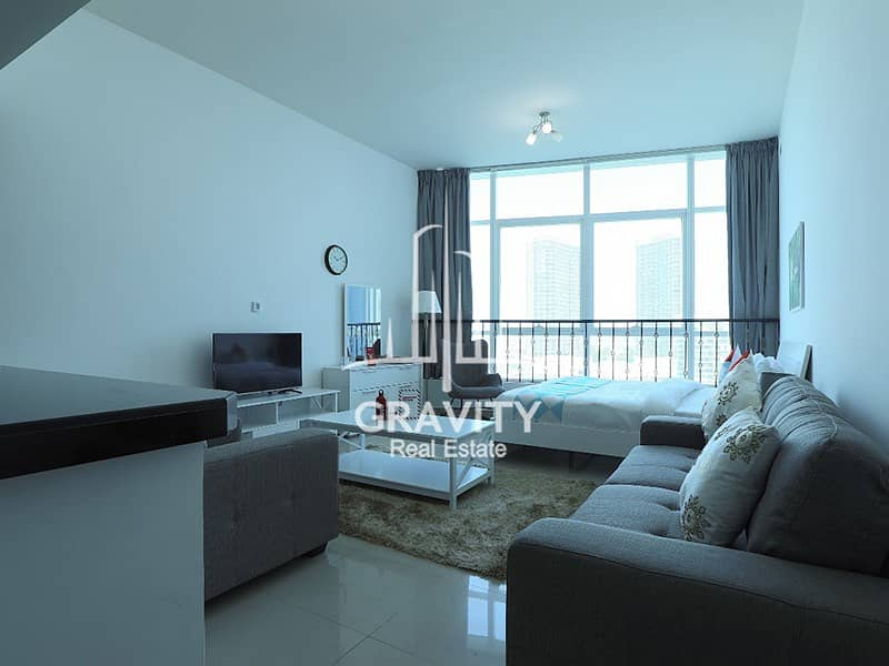 Fully Furnished Studio |5900 Monthly W/ Water, electricity & internet included