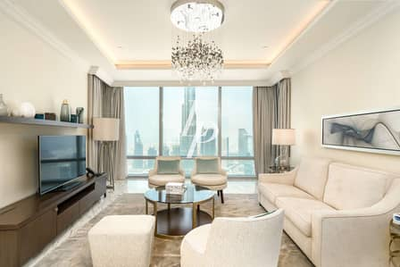 4 Bedroom Penthouse for Rent in Downtown Dubai, Dubai - Exclusively Listed | Elegant Modern Dcor