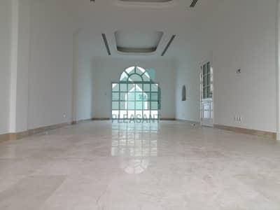 فیلا 4 غرف نوم للايجار في المنارة، دبي - Clean and Bright 4Br Semi-Independent villa + Maids + PVT Pool in Al Manara