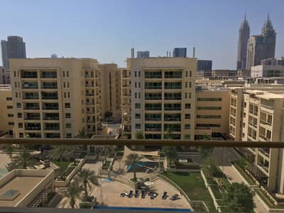 2 Bedroom Flat for Rent in The Greens, Dubai - al dhafrah 2 bedrooms with study