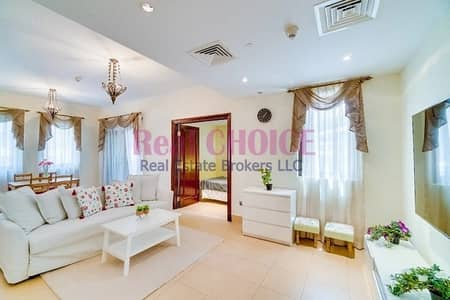 1 Bedroom Flat for Rent in Old Town, Dubai - Fully Furnished 1BR Apartment | Chiller Free