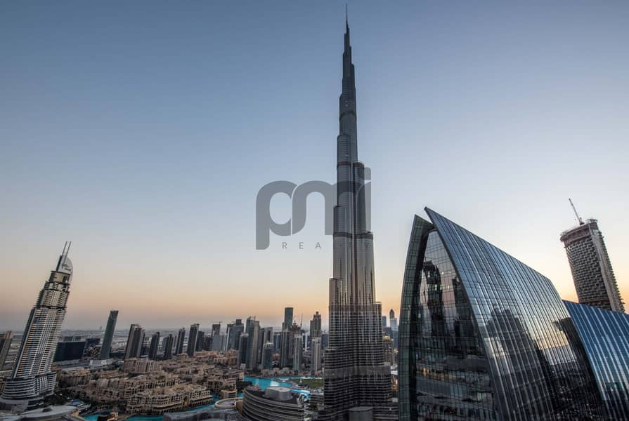 2 (3405) 2 Bed with View of Burj Khalifa
