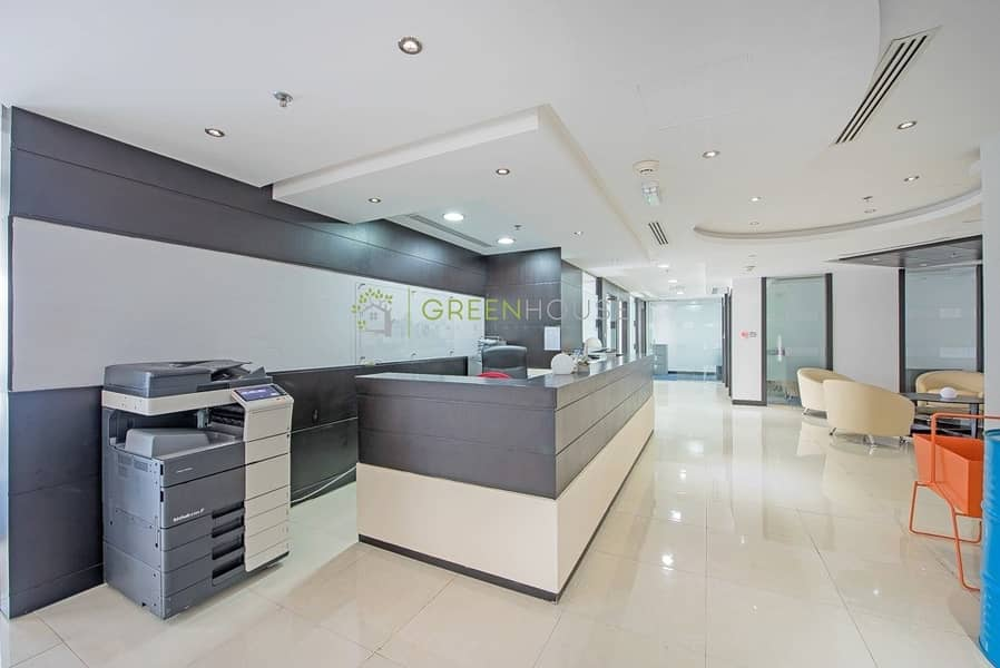 Fully Fitted & Rented Offices for Sale | 11% R.O.I. | JBC-5. JLT