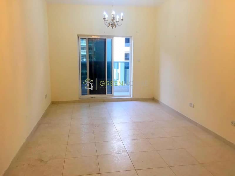 Large Studio Apartment with Balcony |  Crystal Palace | JVC