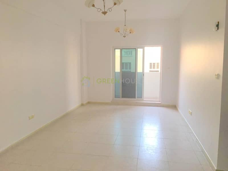 Spacious Apt. with Balcony | Open Kitchen | Crystal Palace | JVC