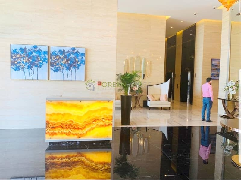 10  Higher Floor Apt. with Balcony | Road Facing | Ghalia