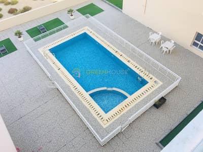 1 Bedroom Apartment for Rent in Jumeirah Village Circle (JVC), Dubai - POOL VIEW | High-end 1 BR Apt. | Premium Quality | Park View Resi.
