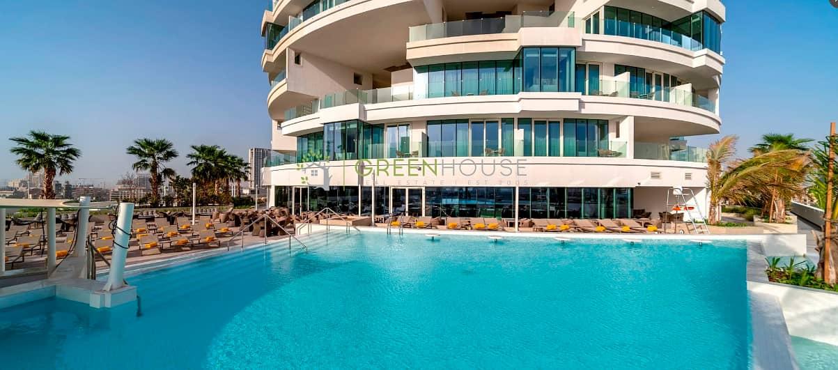 Elegant Junior Suit Hotel Apartment in Five JVC