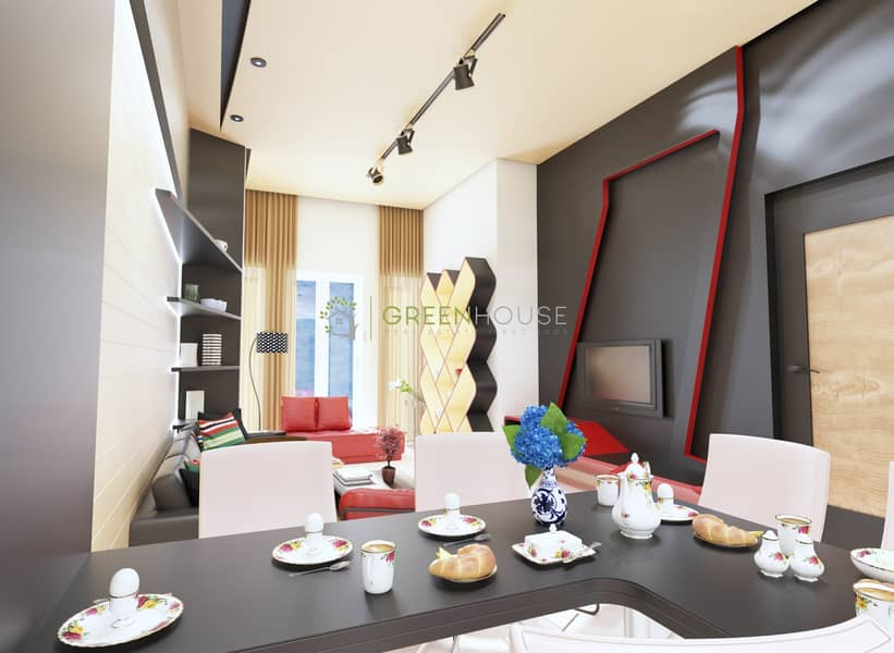2 Premium Fully Furnished 1 Bedroom Apartment in heart of JVC