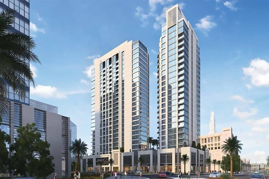 2 Great Layout with Big Terrace in Downtown Dubai