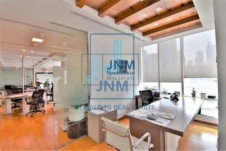مکتب  للبيع في أبراج بحيرات الجميرا، دبي - Fully Furnished and Partitioned Office | Reef Tower