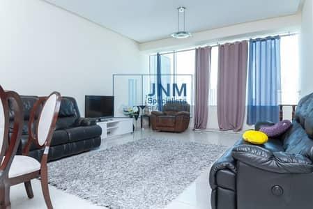 شقة 1 غرفة نوم للايجار في أبراج بحيرات الجميرا، دبي - Furnished 1 Bed w/ Balcony | Mid Floor | SZR View