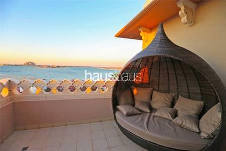 فلیٹ 2 غرفة نوم للايجار في نخلة جميرا، دبي - Something extra   3 balconies   Vacant now