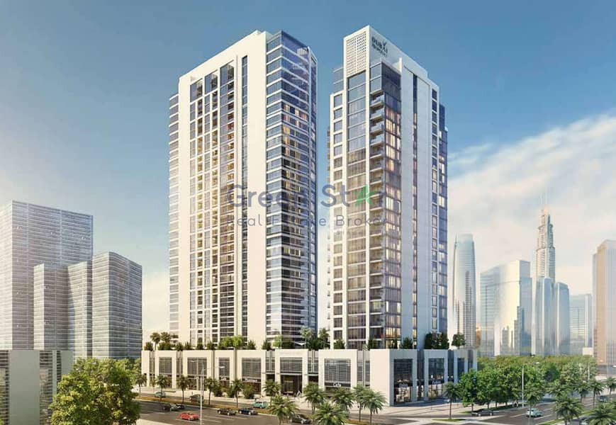 51 Great Layout with Big Terrace in Downtown Dubai