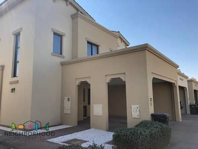 4 Bedroom Villa for Rent in Reem, Dubai - Single Row I Type 1E I for Rent I Mira 2 I Vacant
