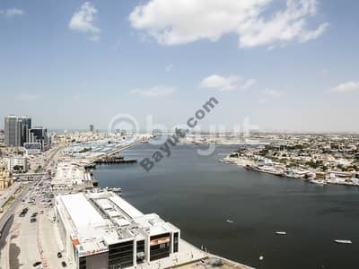 Two rooms and a hall for sale in installments in Ajman oasis tower Paragon with 32.615thousand installments /