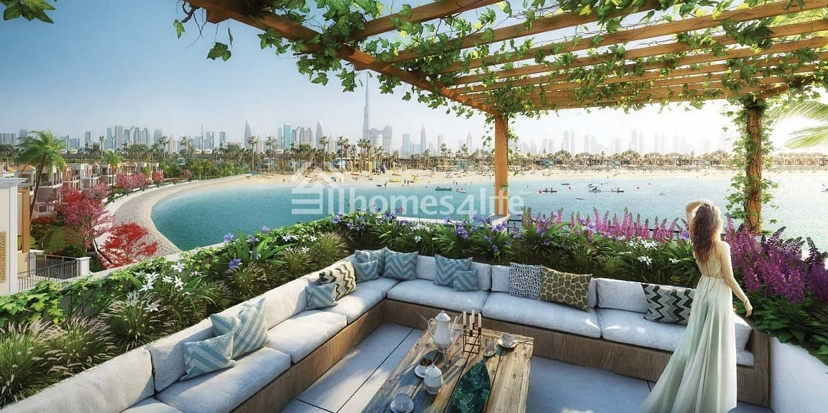 Freehold La Mer Villa   Sea Facing   Jumeirah One