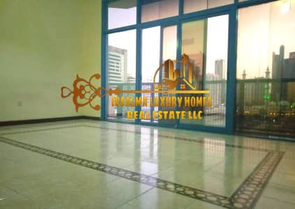2 Bedroom Flat for Rent in Al Khalidiyah, Abu Dhabi - AFFORDABLE TWO BEDROOM FLAT IN ISTIQLAL STREET NEAR CORNICHE  WITH BALCONY