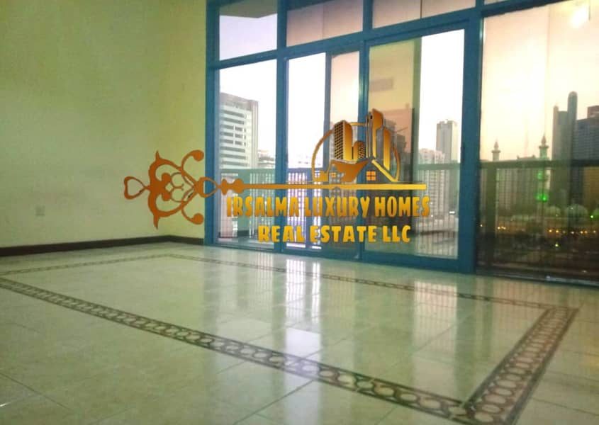 AFFORDABLE TWO BEDROOM FLAT IN CORNICHE WITH BALCONY
